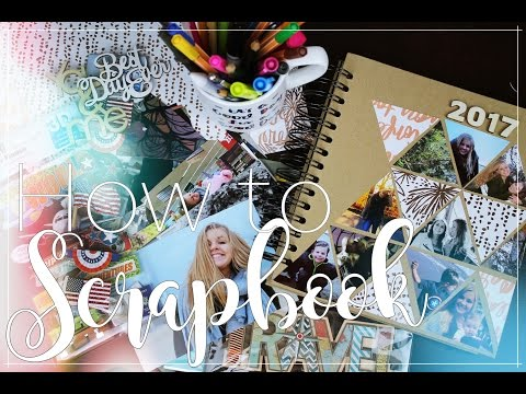 How to Scrapbook | Travel journal | DIY | Daria Abroad