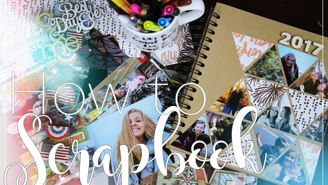 How to scrapbook journal - How To Scrapbook Travel Journal Diy Daria Abroad