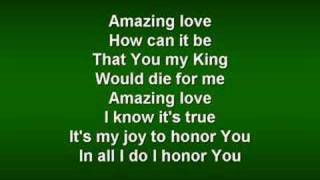 You Are My King (worship video w/ lyrics)