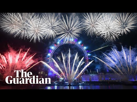 Cities around the world welcome in 2020 with fireworks