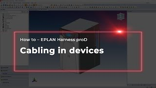 EPLAN Harness proD: Cabling in devices