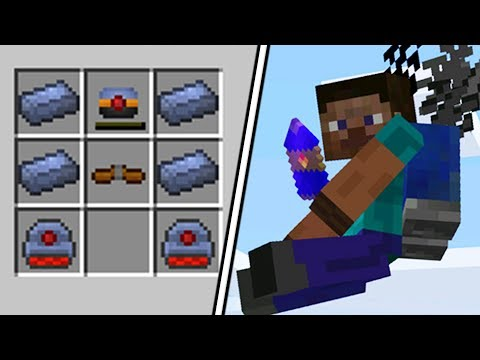 HOW TO MAKE A JETPACK - Minecraft The Simple Life #5