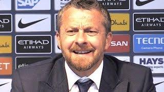 Manchester City 3-0 Fulham - Slavisa Jokanovic Full Post Match Press Conference - Premier League