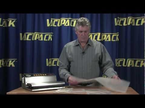 Sous Vide Bags, Vacuum Sealer, VacUpack Elite
