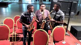 Twinsax with Jerry Omole freestyled - Mighty God at (TPH) the Dome Lekki phase1 Lagos island