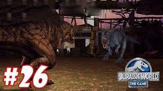 Yutyrannus vs Tyrannosaurus Rex : Trò chơi nuôi khủng long đánh nhau - Jurassic World The Game #26