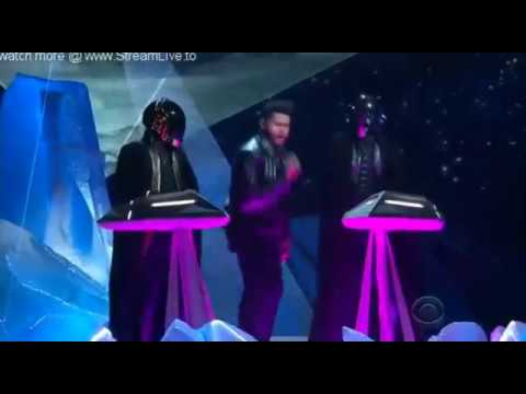 The Weeknd ft  Daft Punk   Grammy Awards 2017  Performance