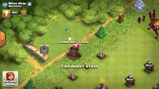 Infinite Blue Butterfly - Clash of Clans