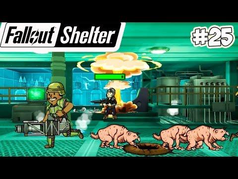 Fallout Shelter Прохождение - МИСТЕР ПОМОЩНИК УНИЧТОЖЕН (25 серия)