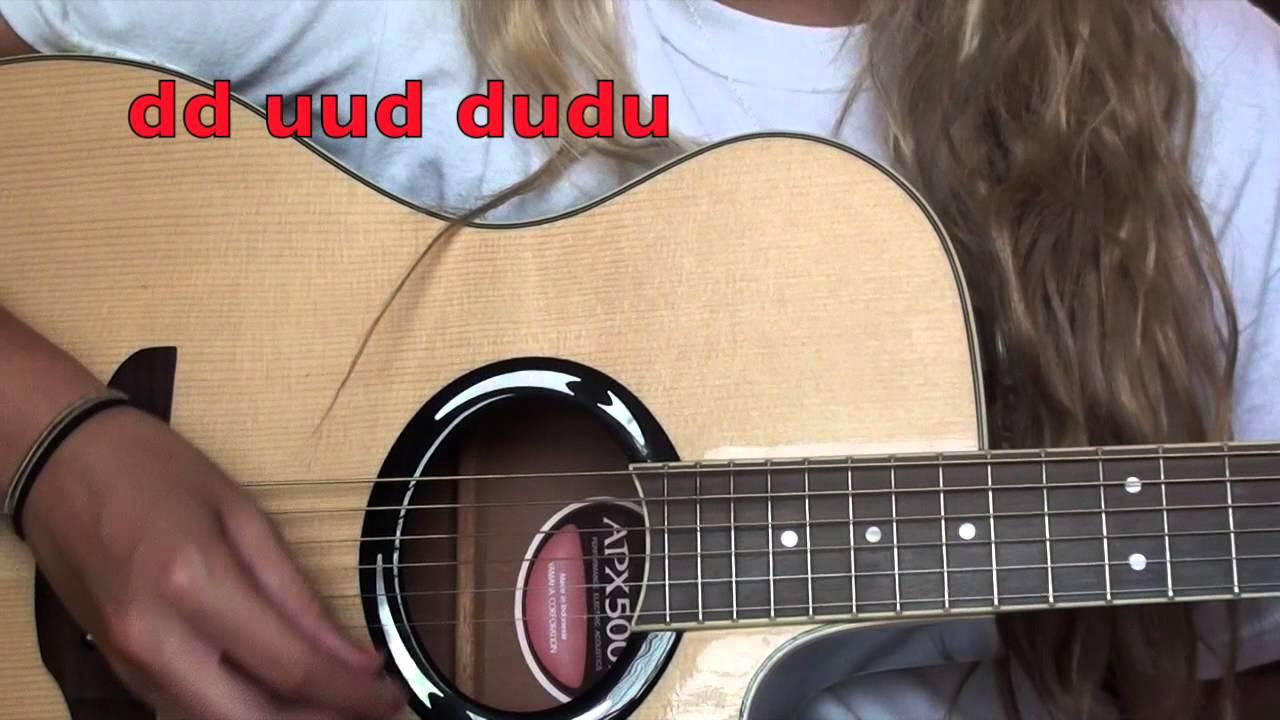 Latch Sam Smith Easy Guitar Tutorial Youtube