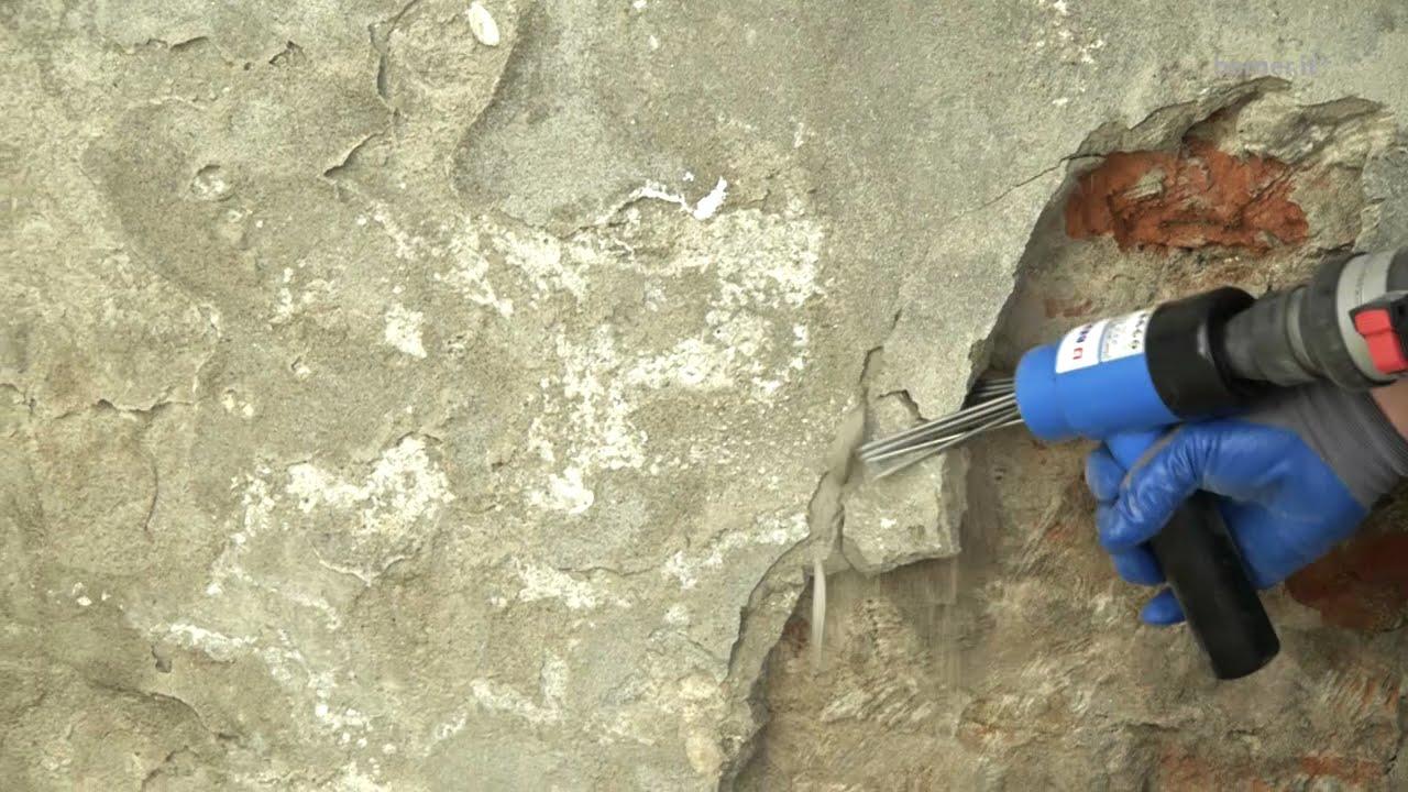 Togliere Intonaco Da Mattoni pietre a vista sotto l'intonaco: restauro fai da te
