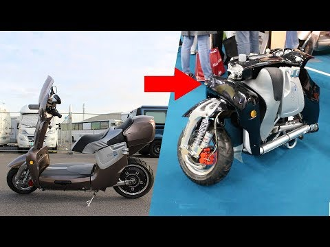 Remarquable XOR Motors le scooter électrique pliable pour camping-car - YouTube AE-04