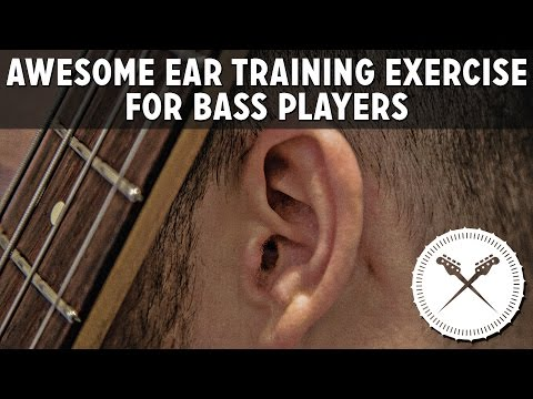Awesome Ear Training Exercise For Bass Players /// Scott's Bass Lessons
