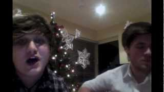"""Too Close"" (Alex Clare) - Acoustic Cover by Logan Nolin & Callum Allison"