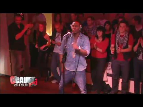 Jessy Matador en Live chez Cauet sur NRJ le 13 octobre 2010 saison 1