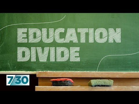 New figures reveal the education divide between rich and poor schools | 7.30