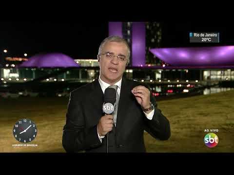 Rodrigo Maia consegue vitória na votação da reforma política | SBT Brasil (23/08/17)
