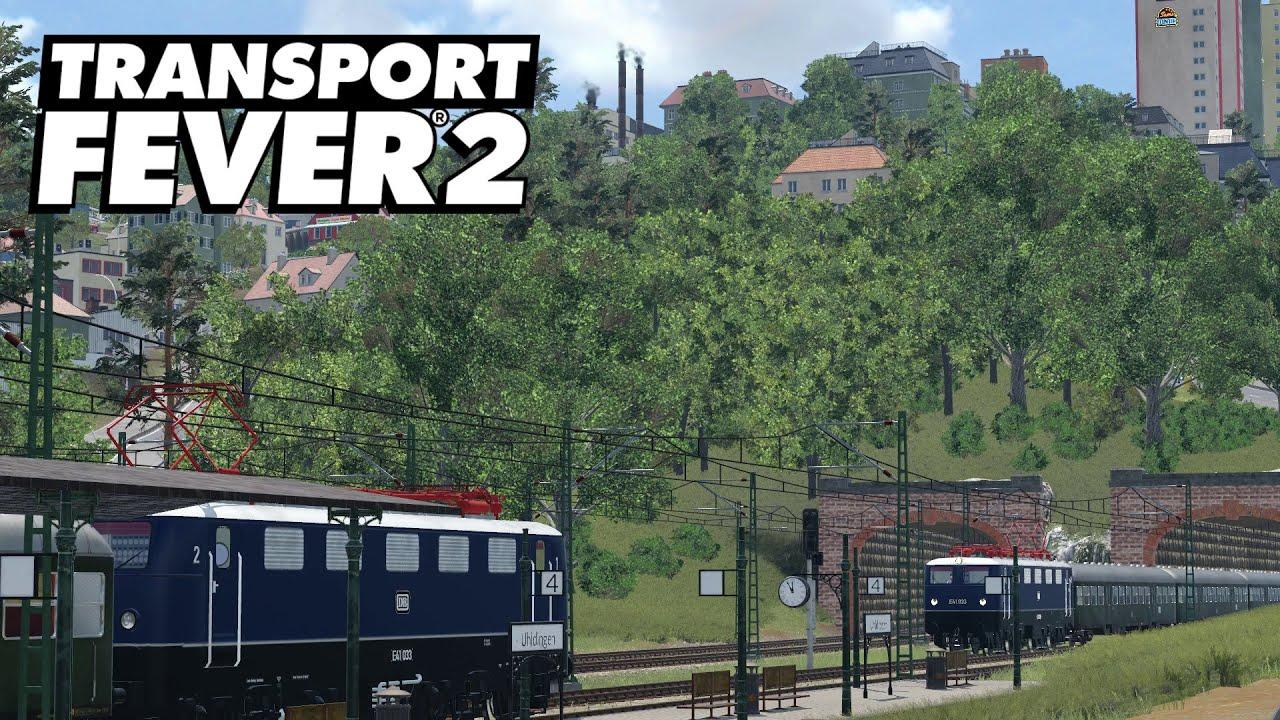 Transport Fever 2 #41   Bodenseemap   Ludwigshafen geht ans Netz