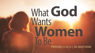 What God Wants Women To Be