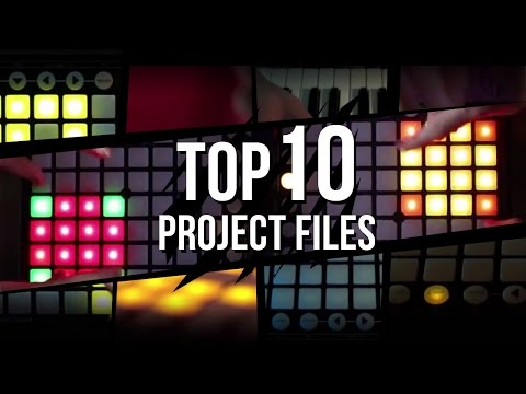 TOP 10 Launchpad PROJECT FILES 2014