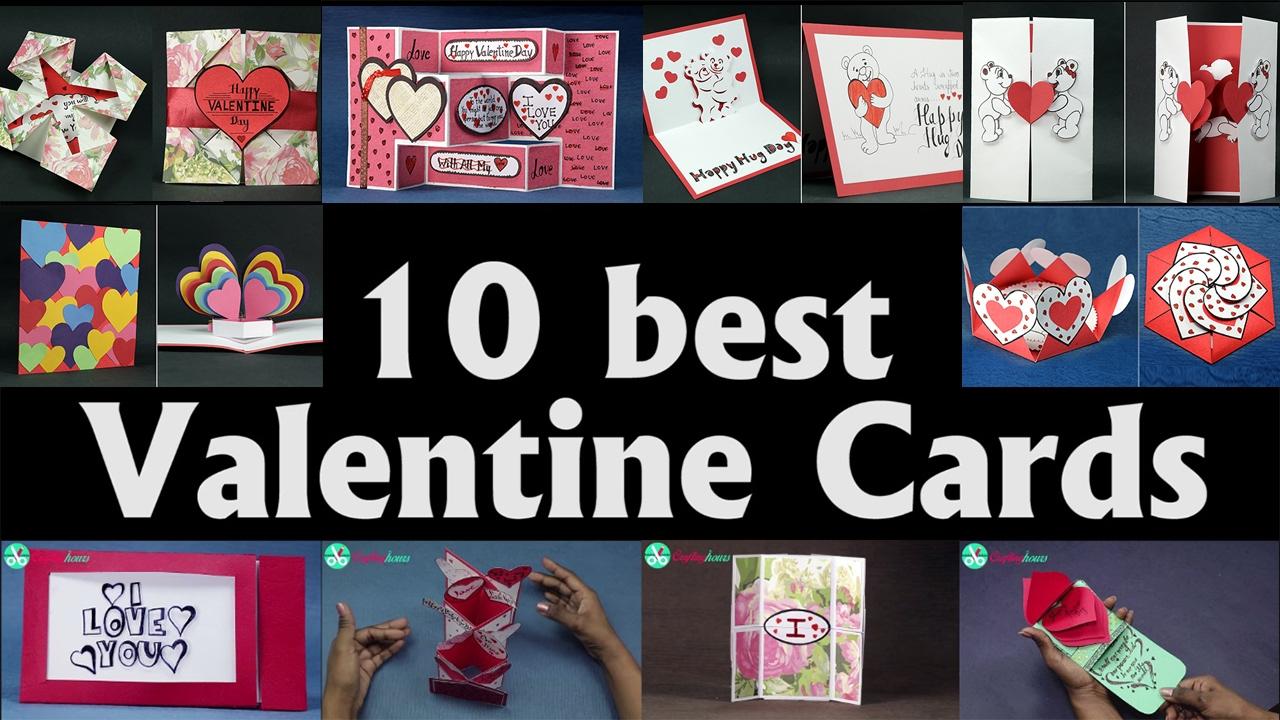 Valentine Card Ideas Top 10 DIY Valentine Cards to Make At Home – Valentine Cards to Make at Home