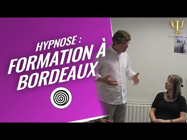 Découvrez L'Hypnose // Formation Hypnose à Bordeaux par Psynapse.