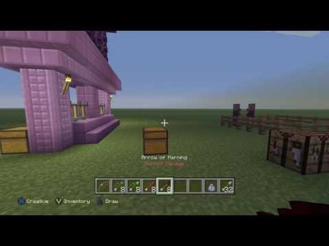 Minecraft Tu46 How To Make Lingering Potions And Tipped Arrows