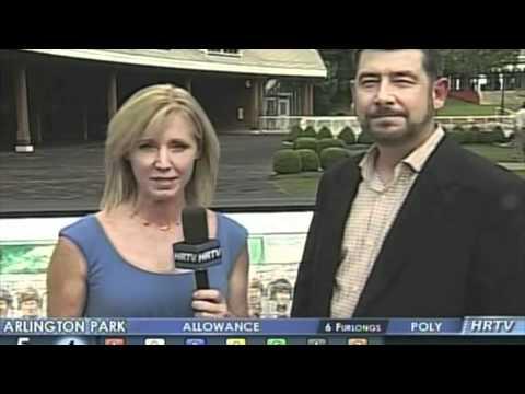 Thomas Allen Pauly on HRTV at Arlington Park Racetrack