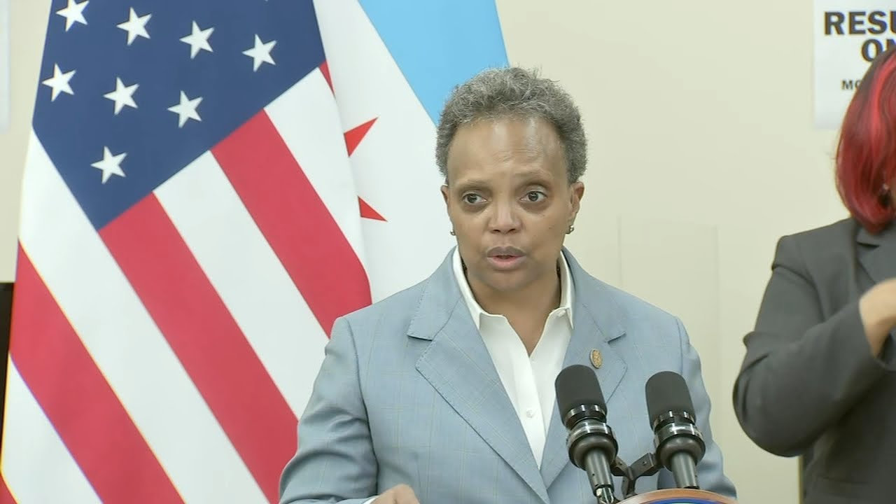 Chicago Mayor Lori Lightfoot giving interviews only to journalists of ...