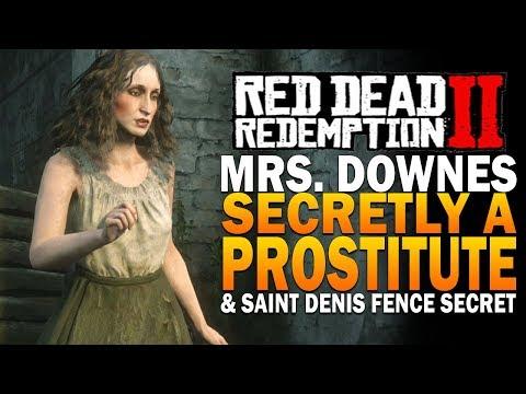 Mrs.  Downes Secretly A Prostitute & Saint Denis Fence Secret Red Dead Redemption 2 Secrets thumbnail