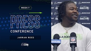Defensive Tackle Jarran Reed Week 7 Press Conference | 2019 Seattle Seahawks