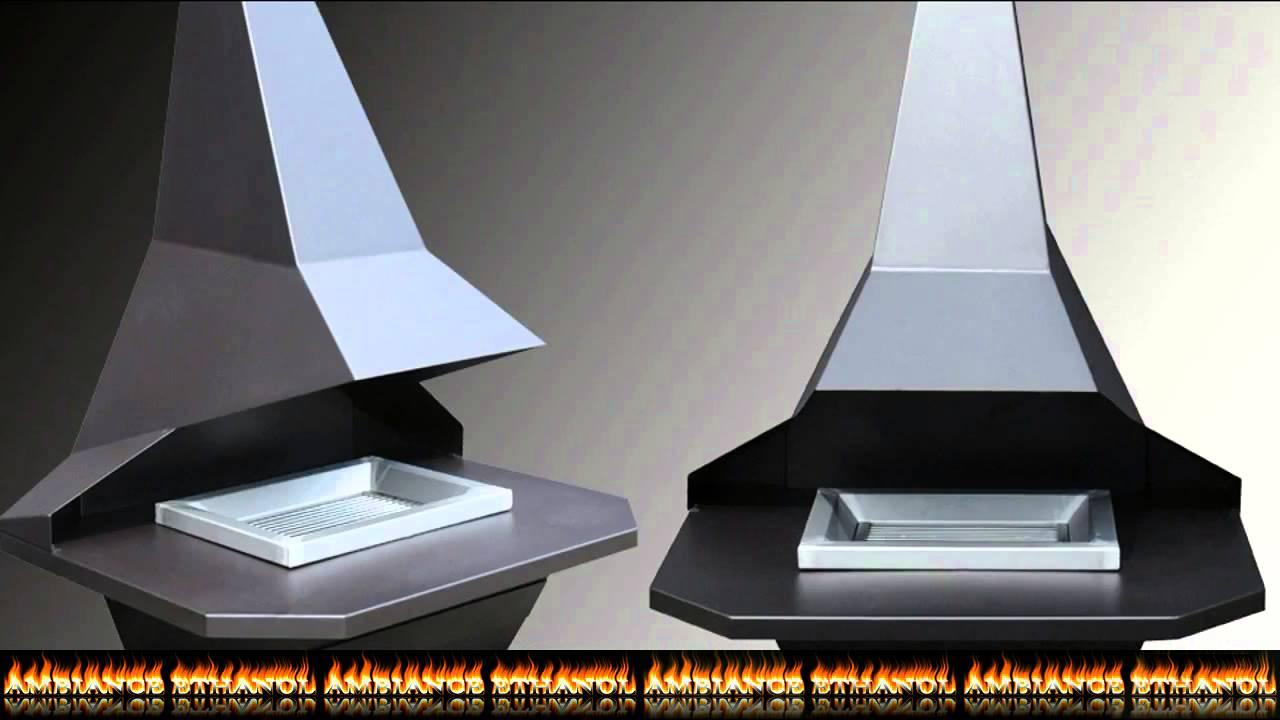 pr sentation d 39 un barbecue design en acier pour votre jardin ou terrasse youtube. Black Bedroom Furniture Sets. Home Design Ideas