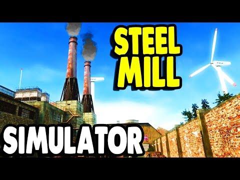 MEGA FACTORY - Steel Mill Exploration & SURVIVAL Simulator | Infra Gameplay