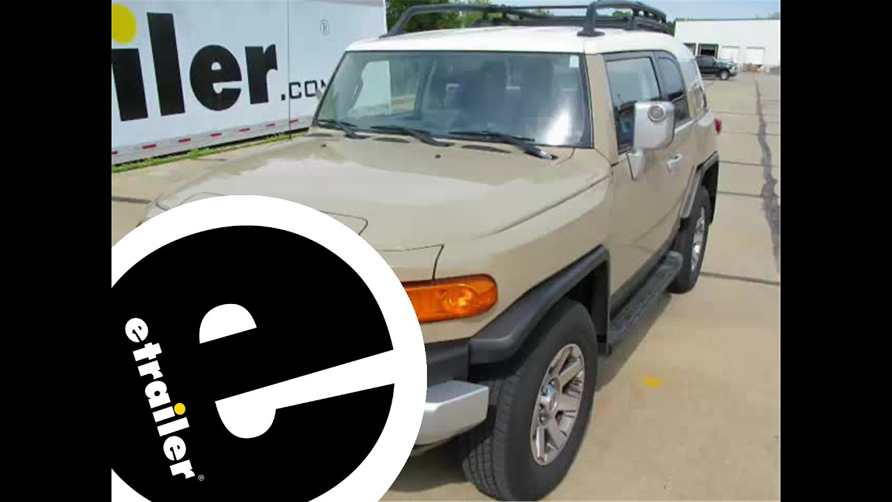 installation of a trailer hitch on a toyota fj cruiser installation of a trailer hitch on a 2014 toyota fj cruiser etrailer com