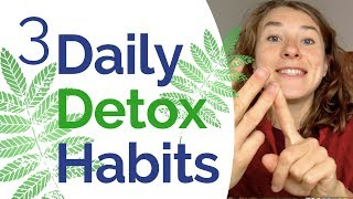 Detox - 3 Powerful & Simple Detox Habits to Cleanse Your Body from Toxins