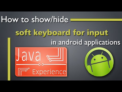 How to show hide Soft keyboard in Android apps