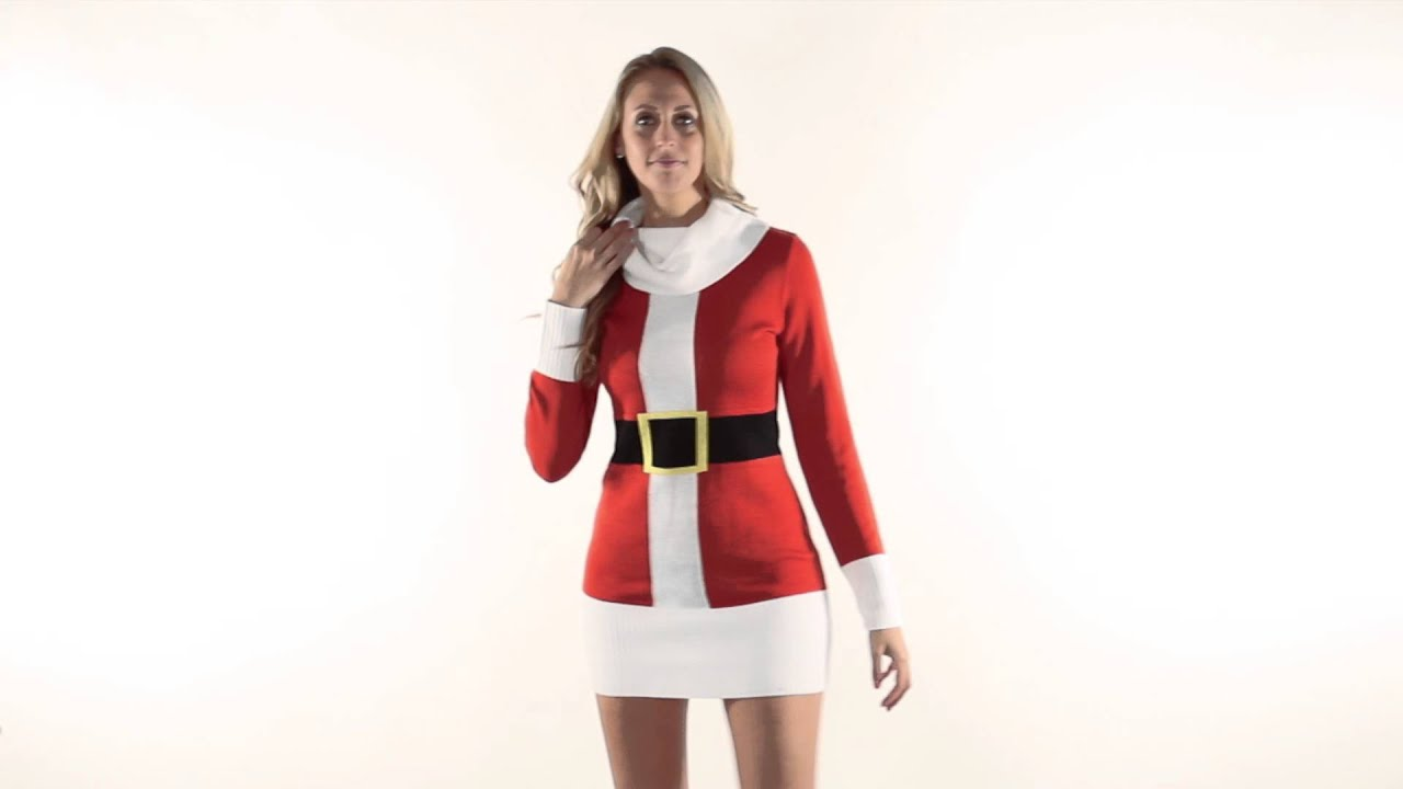 Look - Sweater Christmas dress video