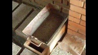 видео производство полистиролбетонных блоков