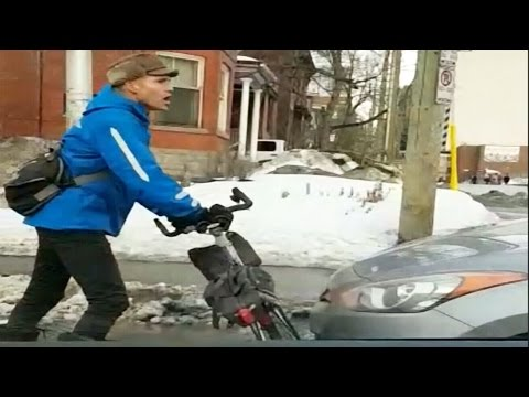Caught on cam: Dispute between cyclist and driver in Ottawa