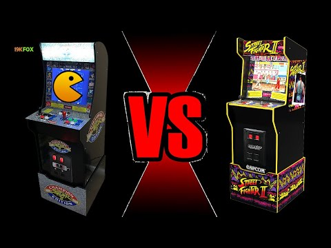 Cab Rehab 4: Arcade1up 1st Gen 12 in 1 VS Legacy 12 in 1 from 19kfox