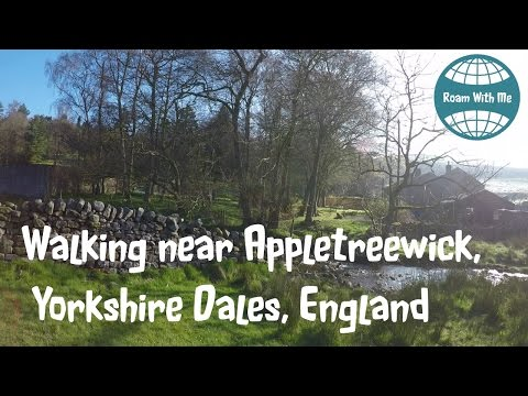 Walking near Appletreewick, Wharfedale; part of the Yorkshire Dales