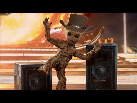 I Am Groot 2 (Lil Nas X Rodeo Cardi B MCU Parody)