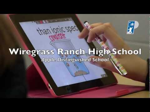 Apple Distinguished School- Wiregrass Ranch High School