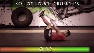 Spartan 300 Abs Workout 1 [Best Home Ab Workout]