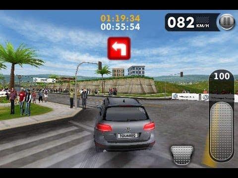 Volkswagen Touareg Challenge iOS Gameplay (Volkswagen Car Game for İpad/İphone)