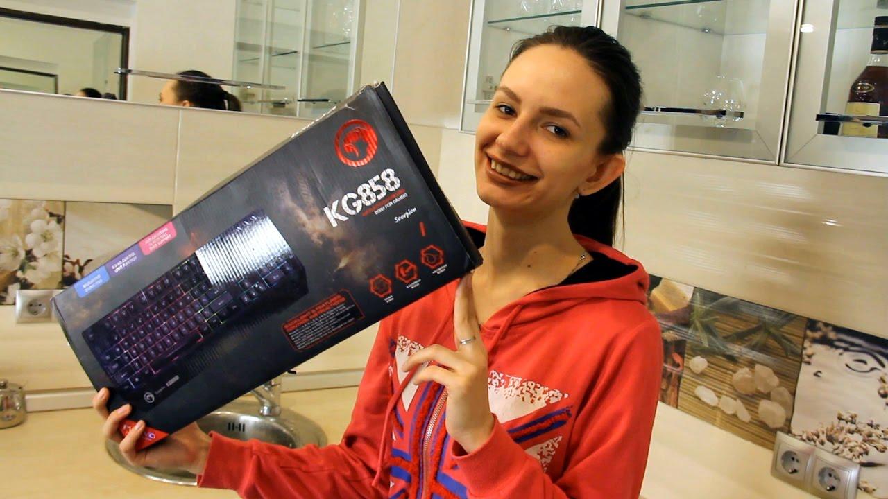 Редактор канала Techno-Kitchen испытал шок от цены на MARVO KG858 Black USB