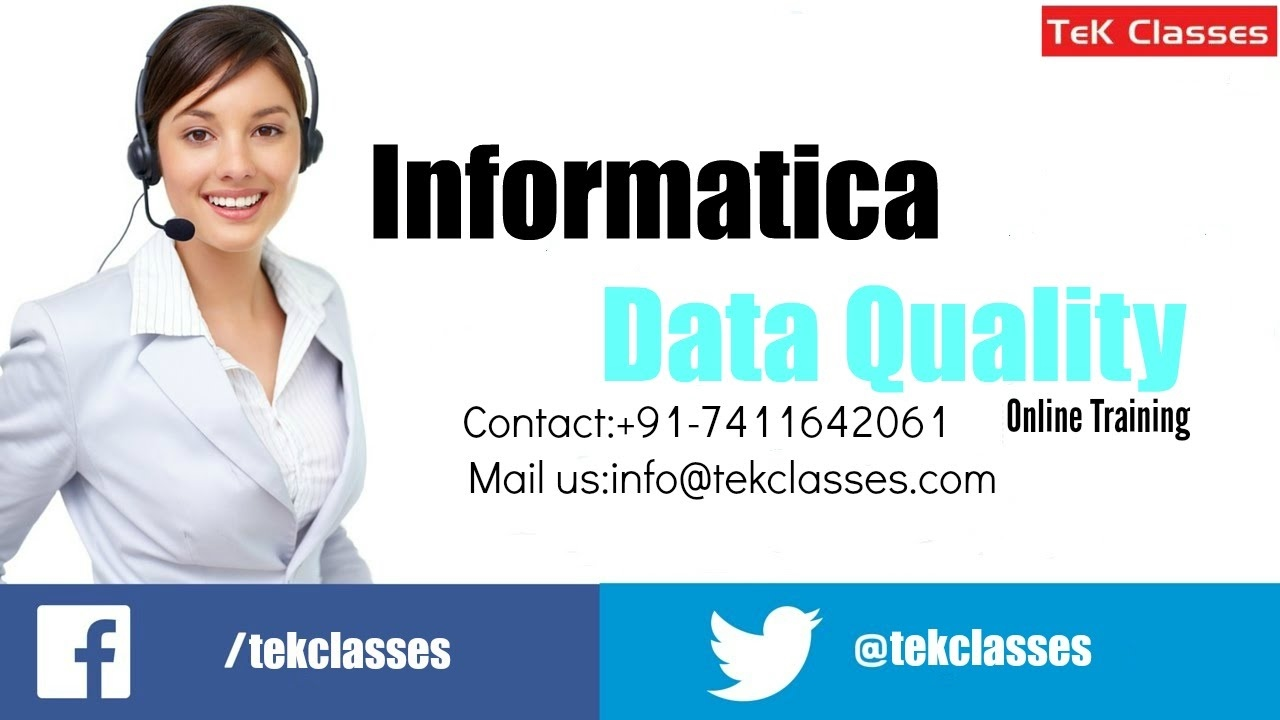 Informatica Data Quality online training | Informatica Data ...