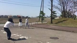 【凧②】あまり風がない日でしたが、凧上げにも挑戦して…。 ちなみに、「...