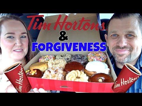 TIM HORTONS DONUTS & FORGIVENESS
