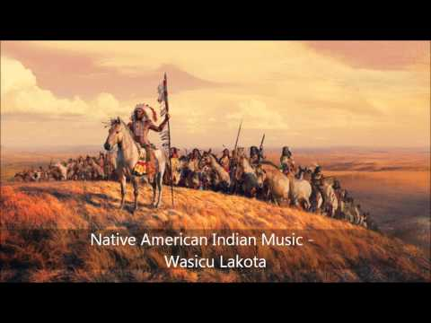 Spiritual Relaxing Native American Indian Music - Wasicu Lakota